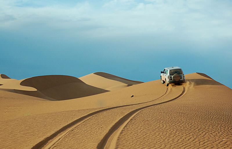 טיול ג'יפים למרוקו בסוכות - 12 יום - בין האטלס לסהרה