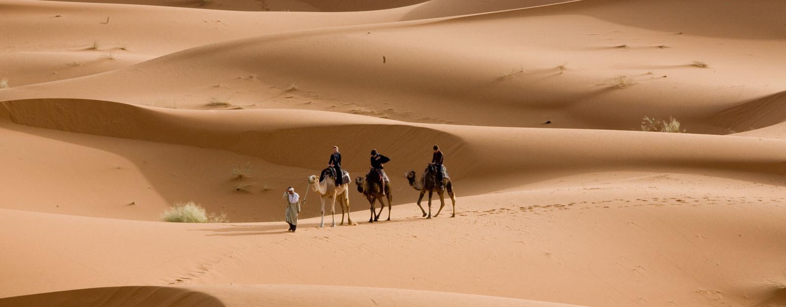 בלב הסהרה, מרוקו