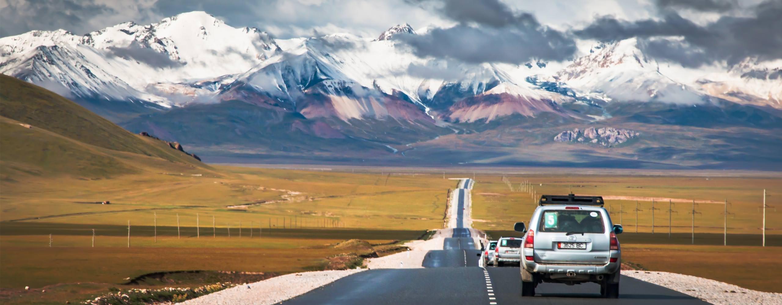 מרחבים אינסופיים - טיול ג'יפים לקירגיזסטן