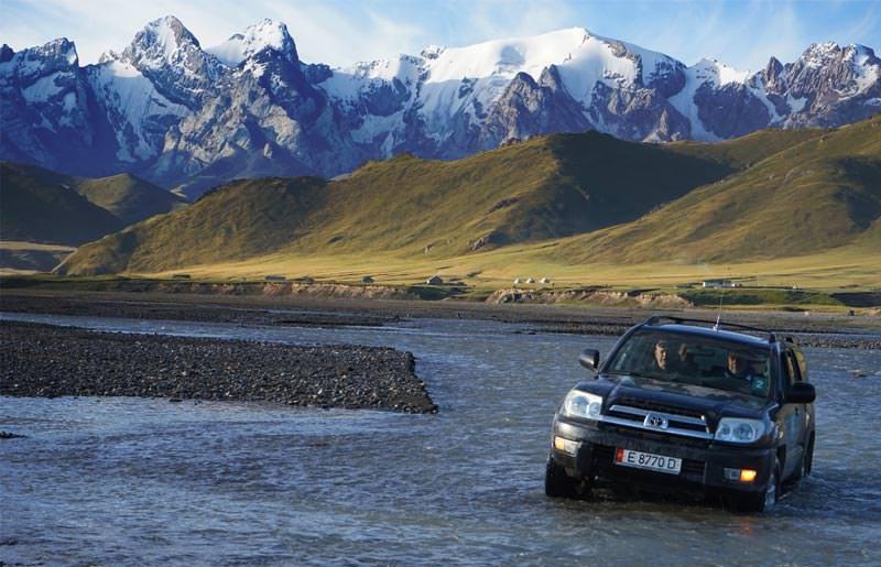 טיול ג'יפים לקירגיזסטן - 11 ימים - המסע המופלא אל גג העולם