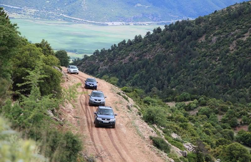 טיול ג'יפים ביוון - 7 ימים - מסע חוצה פינדוס בפסח