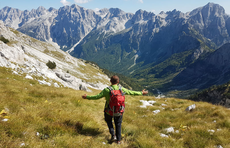 טרק באלבניה - 8 ימים - טיול הליכה אל האלפים הדינריים