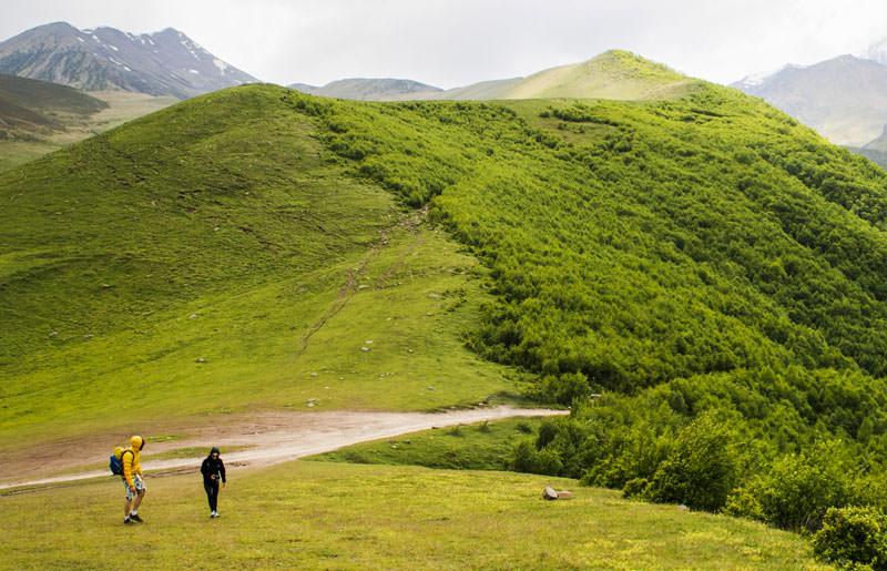 טיול הליכה בגאורגיה - 8 ימים - טרק אל חבל חפצורטי בקווקז המזרחי