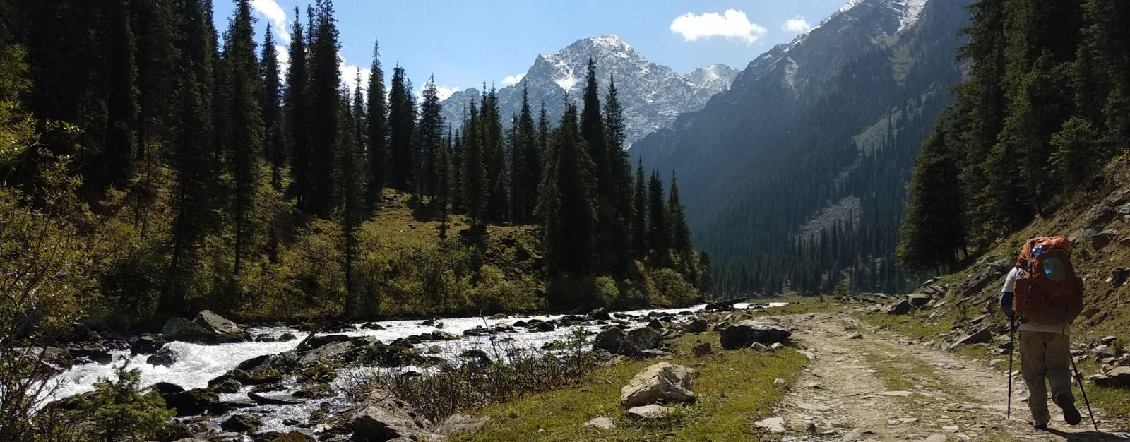טרק בקירגיזסטן