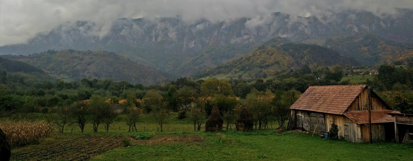 רכס הקרפטים, רומניה
