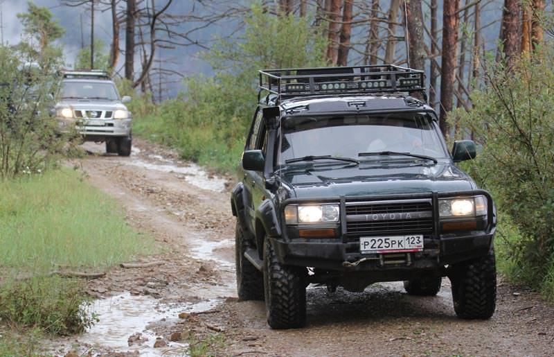 טיול ג'יפים ברוסיה - 8 ימים - יופי פראי בקווקז הרוסי