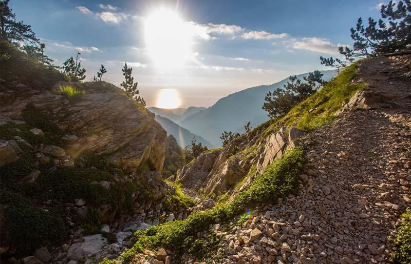 טרק ביוון - 7 ימים - טיול הליכה מהאולימפוס אל מטאורה ואפירוס